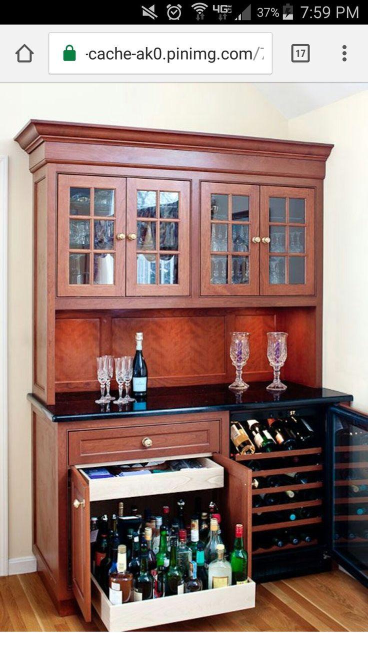 Pin by Jean Stegemiller on liquor cabinet  Liquor bar