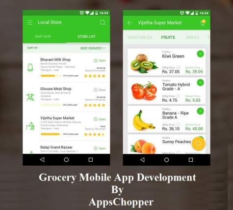Hire Grocery Apps Development Company (United States) | Free