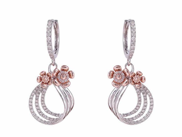 Exclusive Real Diamond Earrings collection By Heneel Shah From Reflexions Jewellery Art  http://www.heneelshah.com/diamond-earrings.html  Inquire Now: http://www.heneelshah.com/inquiry.html  #RealDiamond #Jewelry #Vadodara #Baroda #RaceCourse #rings #ReflexionsJewelleryArt