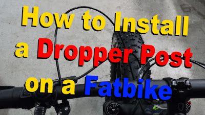 How to Install a Dropper Post | TranzX ~ Fatbike Republic