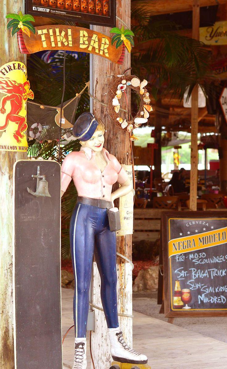 Gilbert's Resort Tiki Bar Key Largo     Best Kept Secret Tiki Bars in the Florida Keys!    Beaches, Bars and Bungalows travel blog