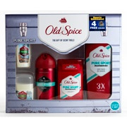 "Old Spice Pure Sport Gift Set with Bonus ""Sports Illustrated"" Subscription (value saving $21)"