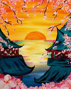 Zen Morning! New Painting from Galleria, Houston!