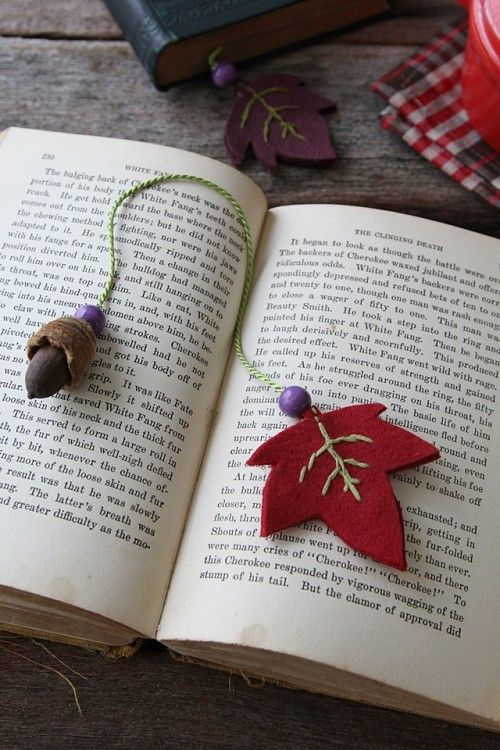 Home made book mark