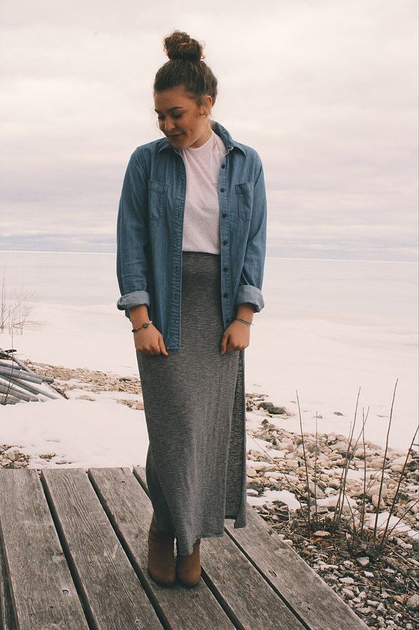 fc25bab8511f 2018 MODERN MODEST Outfit Ideas! | website | YouTubers | Skirt ...