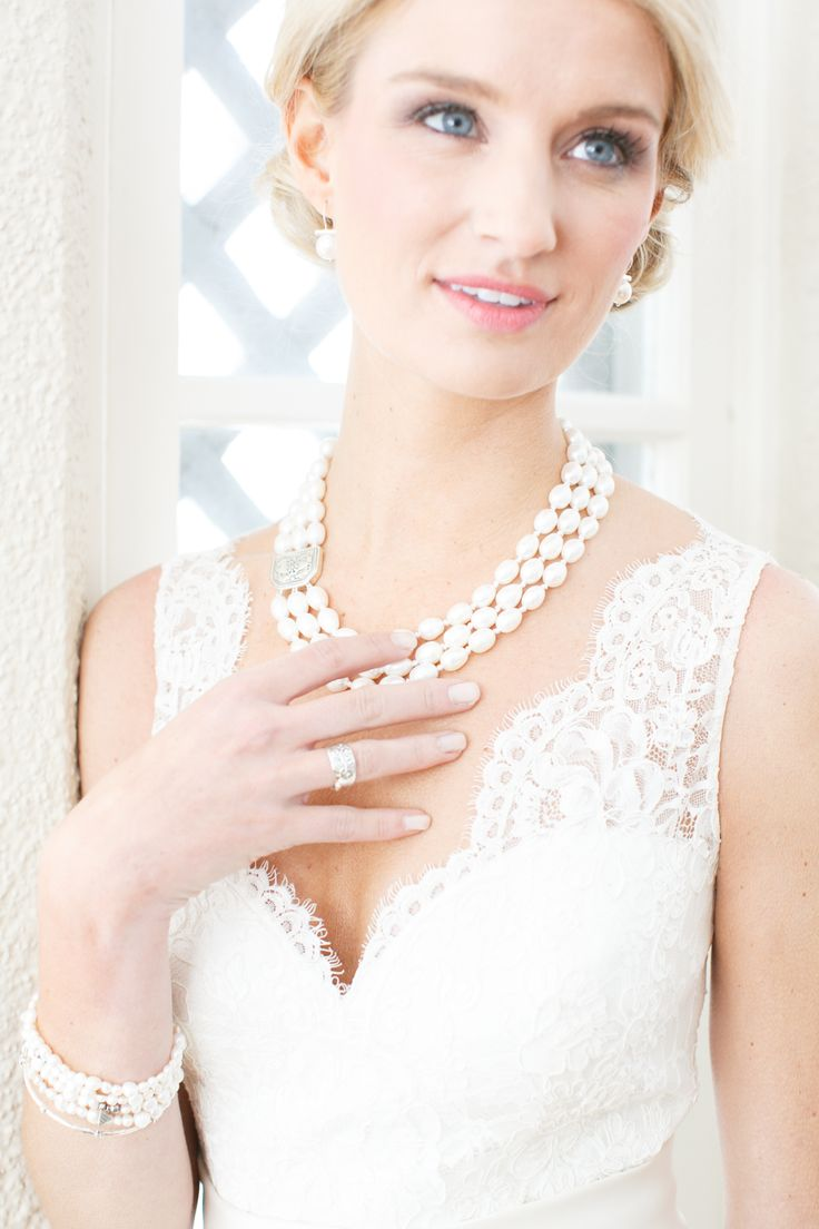 #Pearl perfection for your #wedding day.