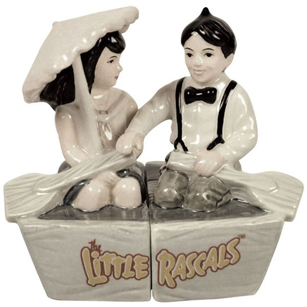 Alfalfa and Darla in Boat Salt and Pepper Set http://www.retroplanet.com/PROD/44644