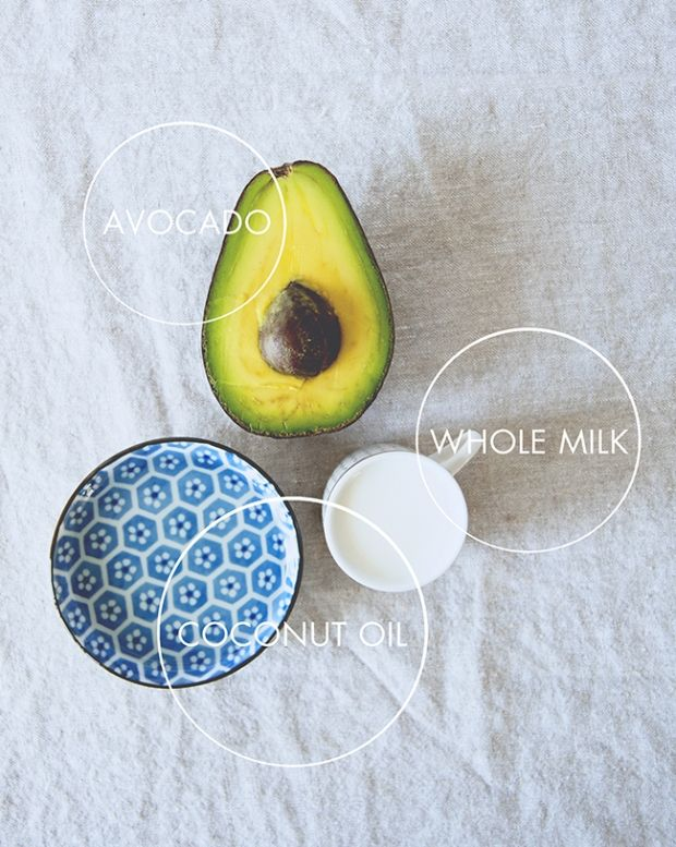 Diy Avocado Coconut Hair Mask By Erica Davidson