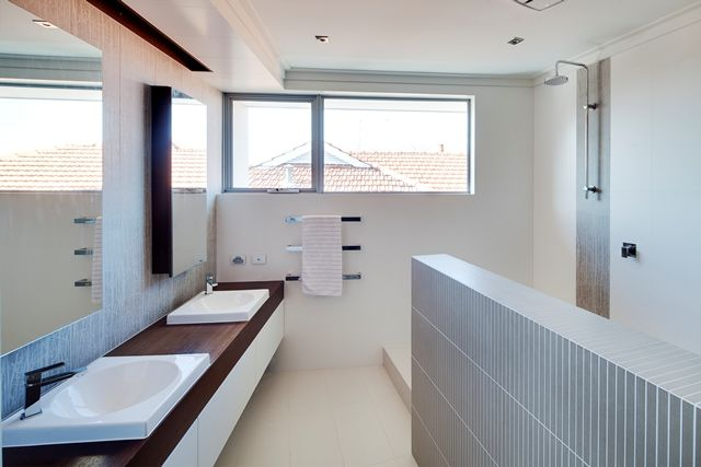 Ensuite with large double shower