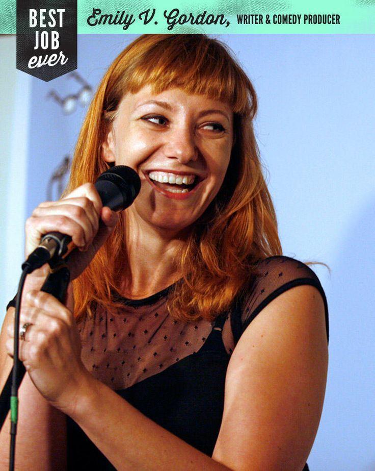 Best Job Ever: Writer and Comedy Producer, Emily Gordon