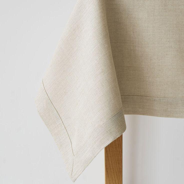 Mantel Lino Básico Natural