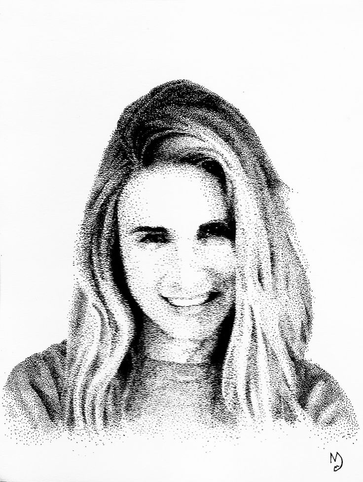 Brit Marling #portrait #blackandwhite #dotwork #actress #anotherearth #drawing #art #pen #ink