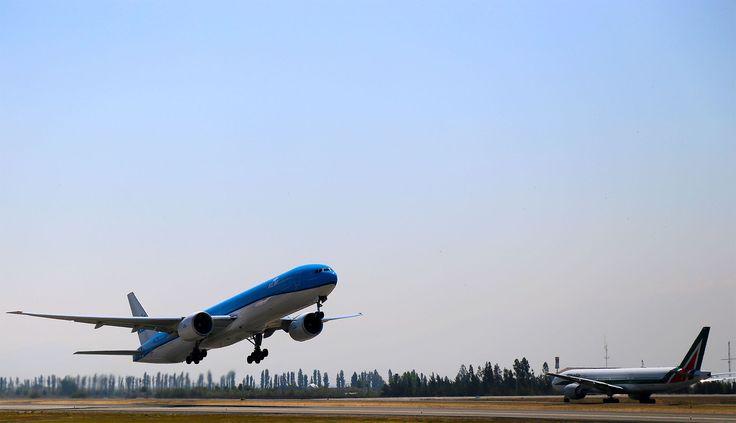 Aeropuerto de Santiago, Chile.