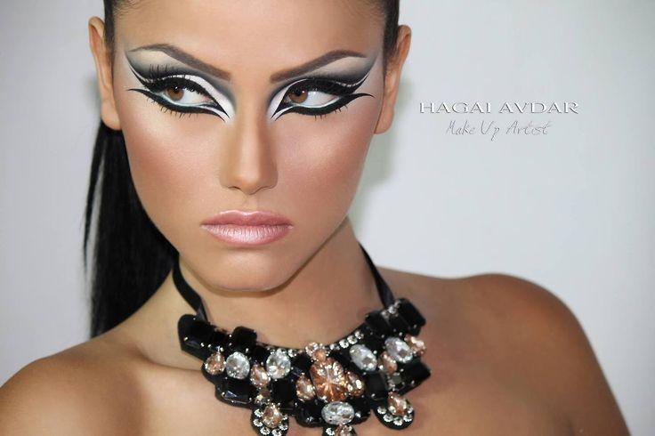 Photography and Makeup : Hagai Avdar  Model : lee Assouline   Eyeliner