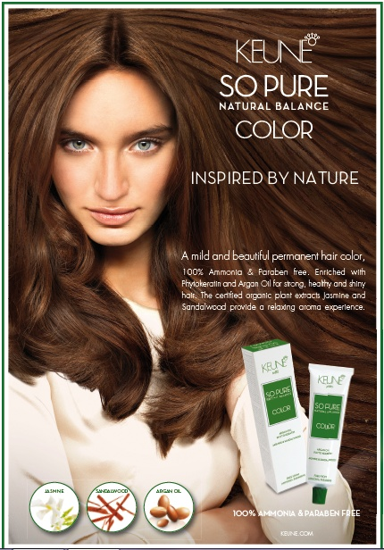 So Pure, the best for hair.