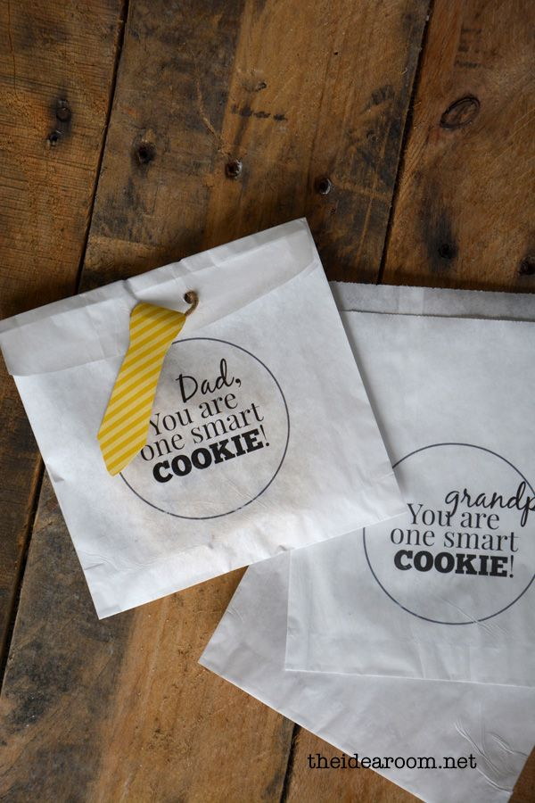 one-smart-cookie gift bags