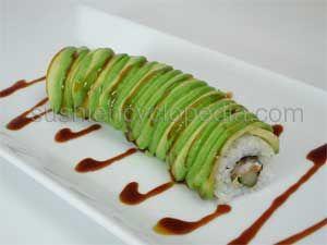 Dragon Roll Recipe.  My skills are dusty....  http://www.sushiencyclopedia.com/sushi_roll_recipes/dragon_roll_recipe.html