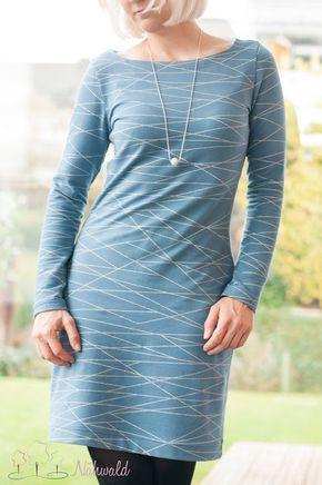 Ein sehr gemütliches aber schickes Kleid - Idee im Link