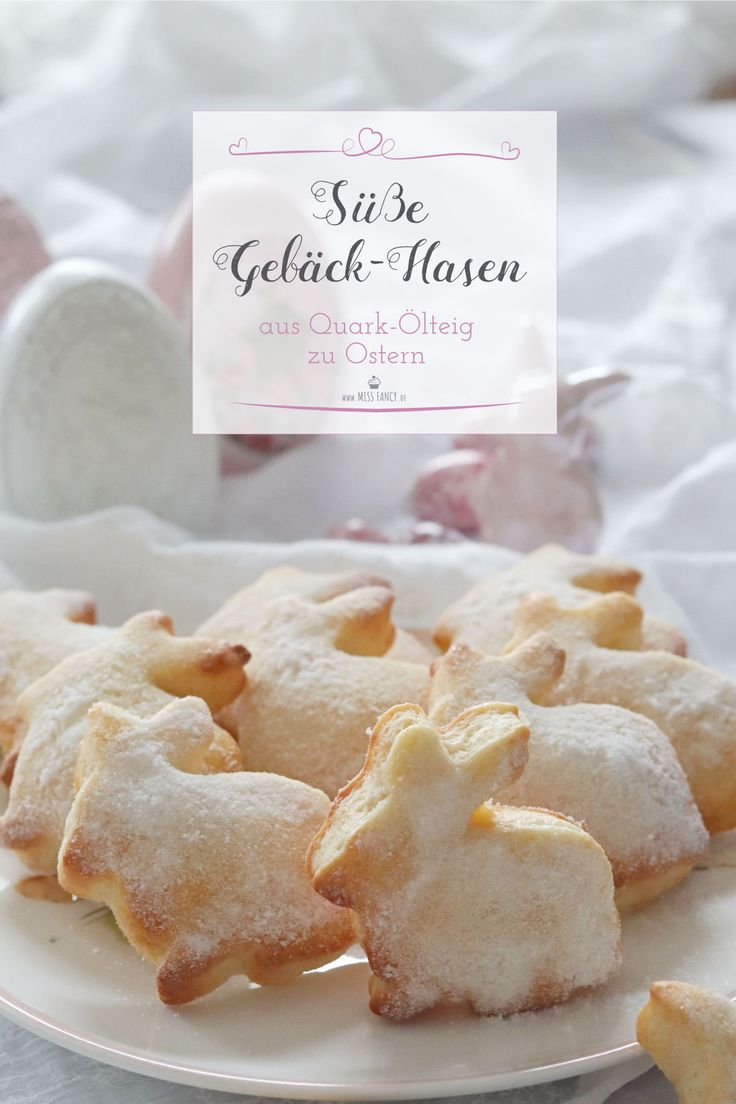 Quick made and super tasty, these sweet pastry bunnies are easterly ea …   – Backen | Oster Rezepte