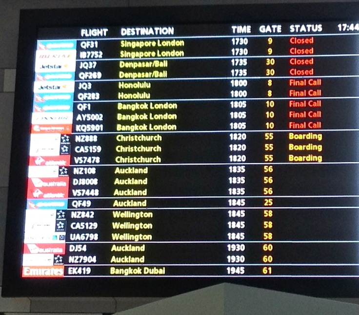Departure Boards are full of some may possibilities
