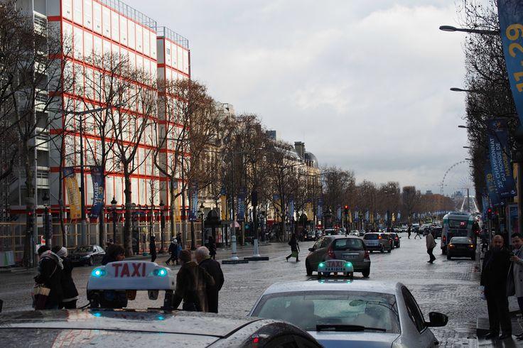 Hannas Home / Paris in January / Champs Elysées