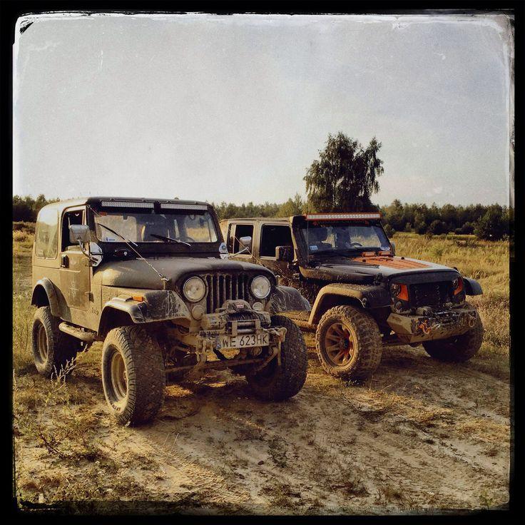 Old & new Jeep #jeep #jeeppolska #jeeplife #jeepwrangler #jeepcj