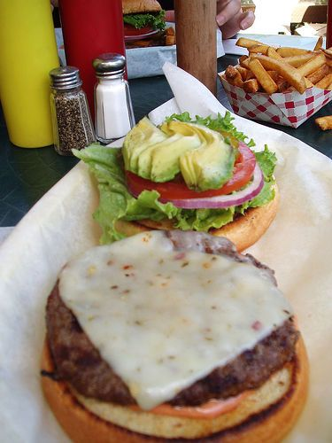 Southwestern Grilled Hamburgers with avocado...these are yummy!