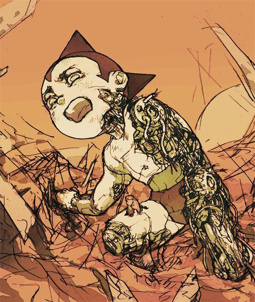 Tetsuwan Atomu   Astro Boy by Nico Regrets