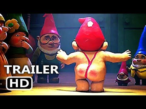 SHERLOCK GNOMES | Official Trailer (2018 | Kids Animated Comedy Movie HD. These movies are very popular and watchable. Watch Online