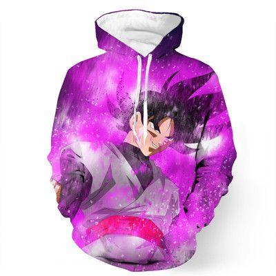 Newest Anime Dragon Ball Z Super Saiyan Hooded Sweatshirts Goku Vegeta Broli Majin Buu 3D Hoodies Pullovers Harajuku Hoodie