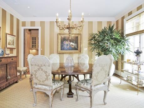 Dining Rooms Wallpapers Gold Kitchens Wallpapers Chic Dining Rooms