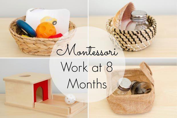 giochi montessoriani 18 mesi