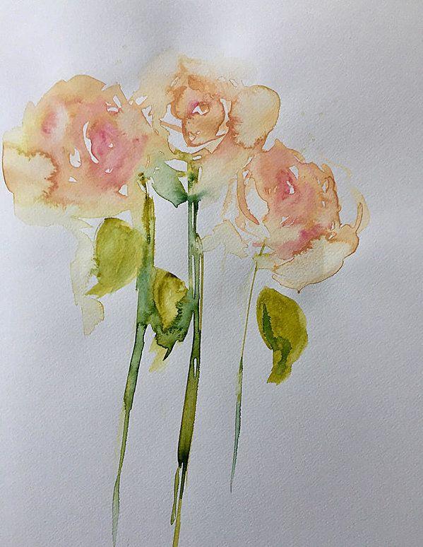 Rosentraum Kunstdruck von Britta Zehm