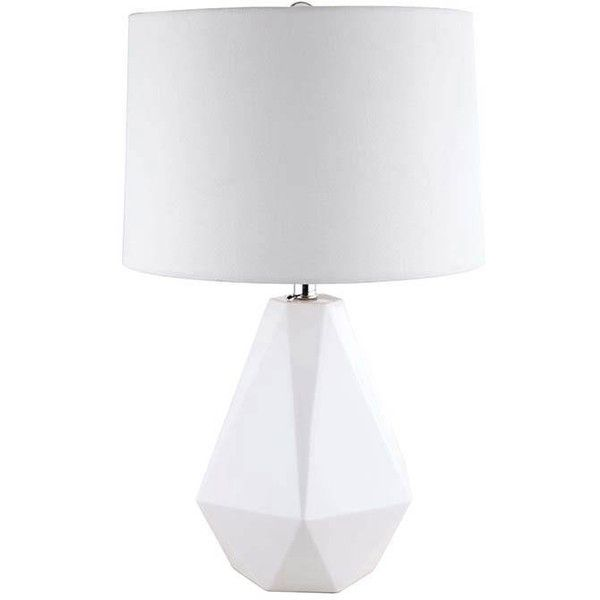 The 25 best ceramic table lamps ideas on pinterest online modern style white fabric shade vase shape ceramic table lamp 440 sar liked aloadofball Image collections
