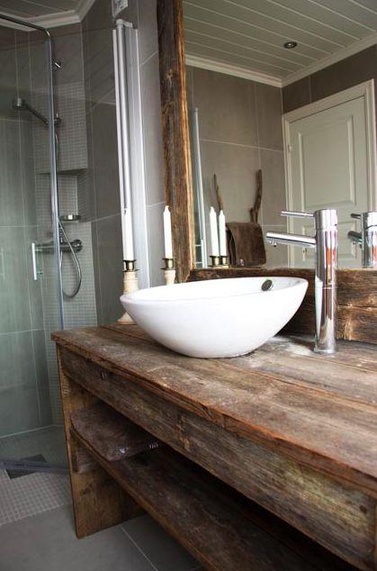 bathroom sink, beautiful wooden table