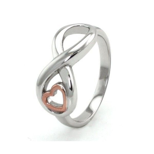 23 best infinity rings images on Pinterest Promise rings Infinity