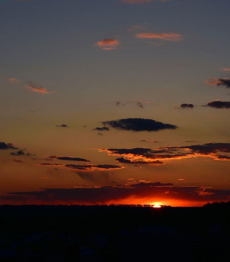 https://flic.kr/p/V76pL2 | Beautiful, spring sunset.