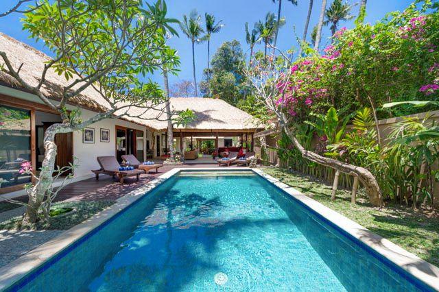 Villa Plawa | 4 bedroom | Seminyak, Bali #swimmingpool #garden