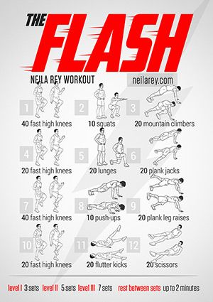 Exercise like a Jedi, Superhero, or Warrior with free workout posters!