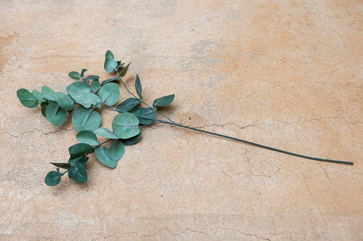 Eucalyptus Spray Green Grey 48cm