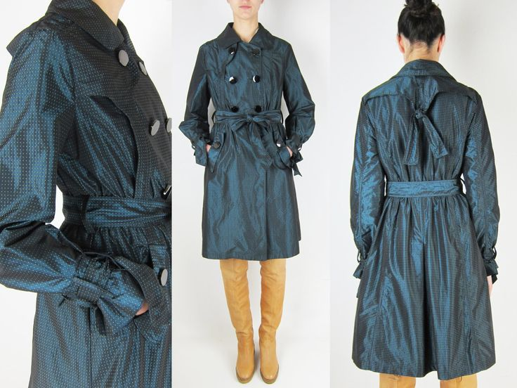 MAX MARA Nylon Trench Coat (85.00 EUR) by GaletaVintage
