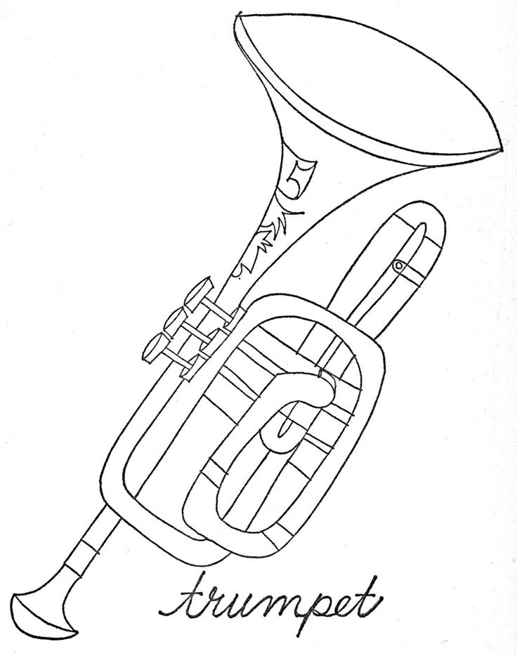 Musical instruments to color by Lois Ehlert