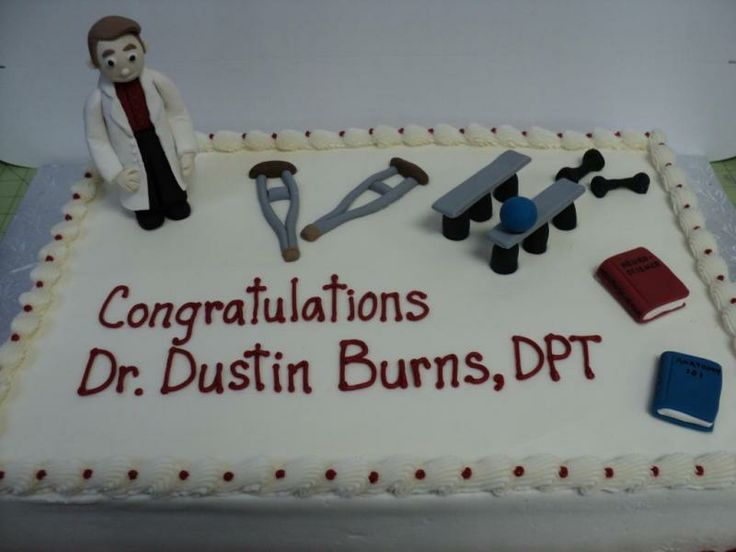 physical therapy cake! PT Things Pinterest