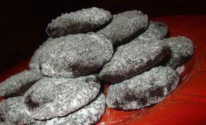 Mákos – áfonyás keksz