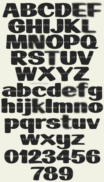 Letterhead Fonts / LHF Big Bob / Children's Book Fonts