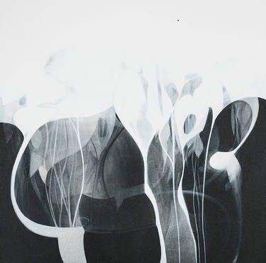 "Saatchi Art Artist Danilo Rojas; Painting, ""MANGLAR - MANGROVE SWAMP"" #danilorojas #danilorojasart #mysignatureOneDot #painter #contemporaryart #artist #art #arte #artecontemporaneo #silence"