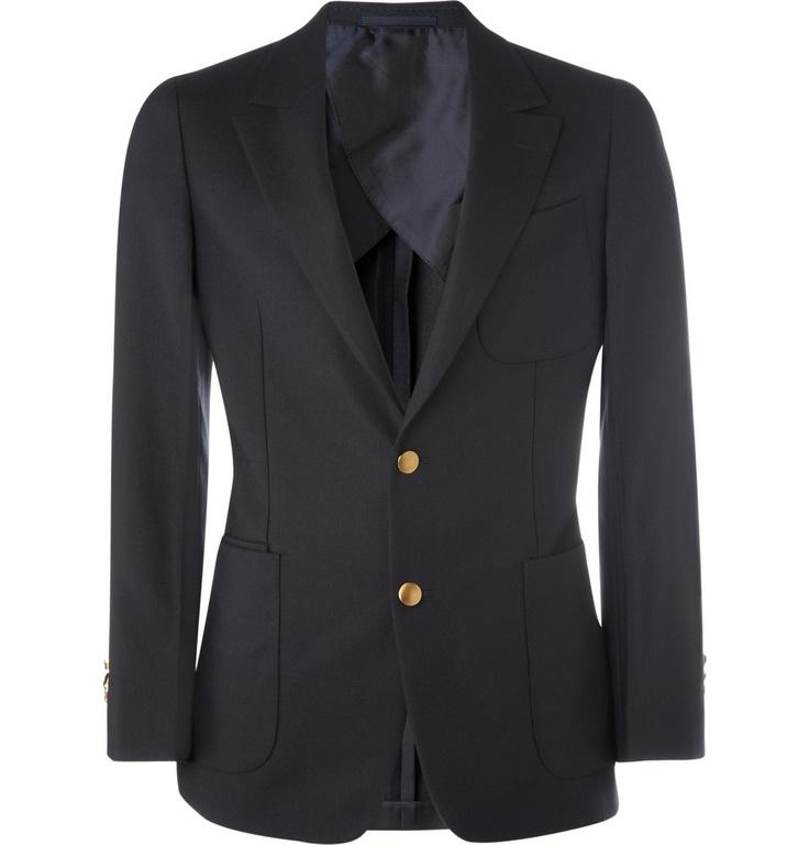 Yves Saint LaurentClassic Wool Blazer... a style everyone must own