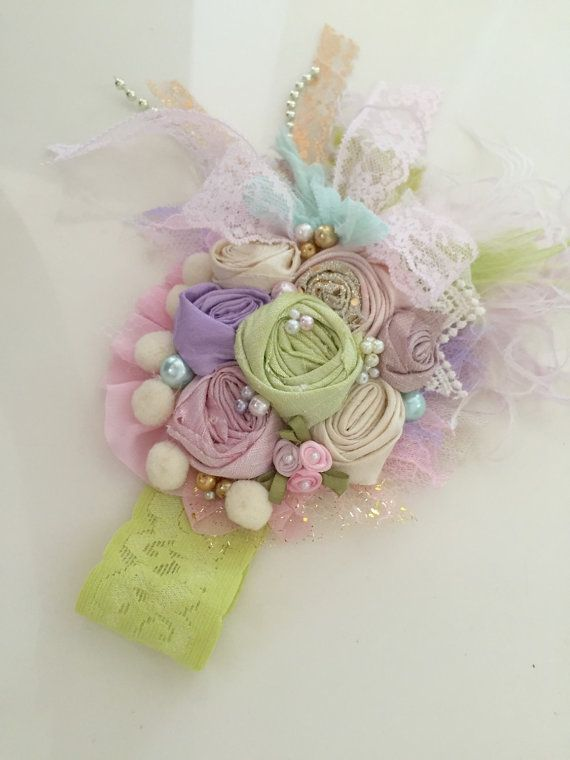 Baby Headband Baby Girl Headband Girls por AvryCoutureCreations