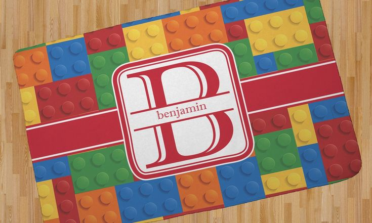 Building Blocks Area Rug (Personalized)