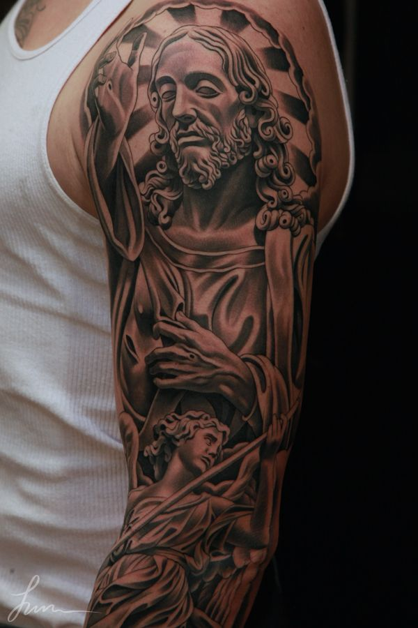 138 best holy tattoos images on pinterest sleeve tattoos for Can catholics get tattoos